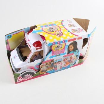 Auto Barbie Mattel klinika na kolech FRM19