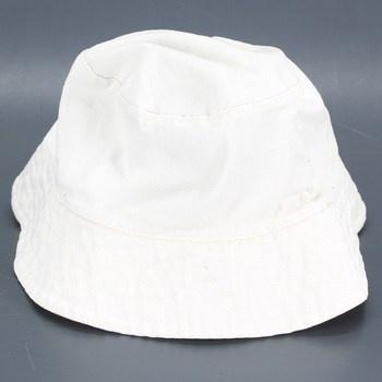Dětský klobouček Bella bílé barvy