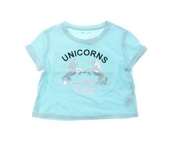 Dětské tričko Pepco modré s potiskem