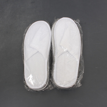 Pantofle Zollner 10 párů bílé