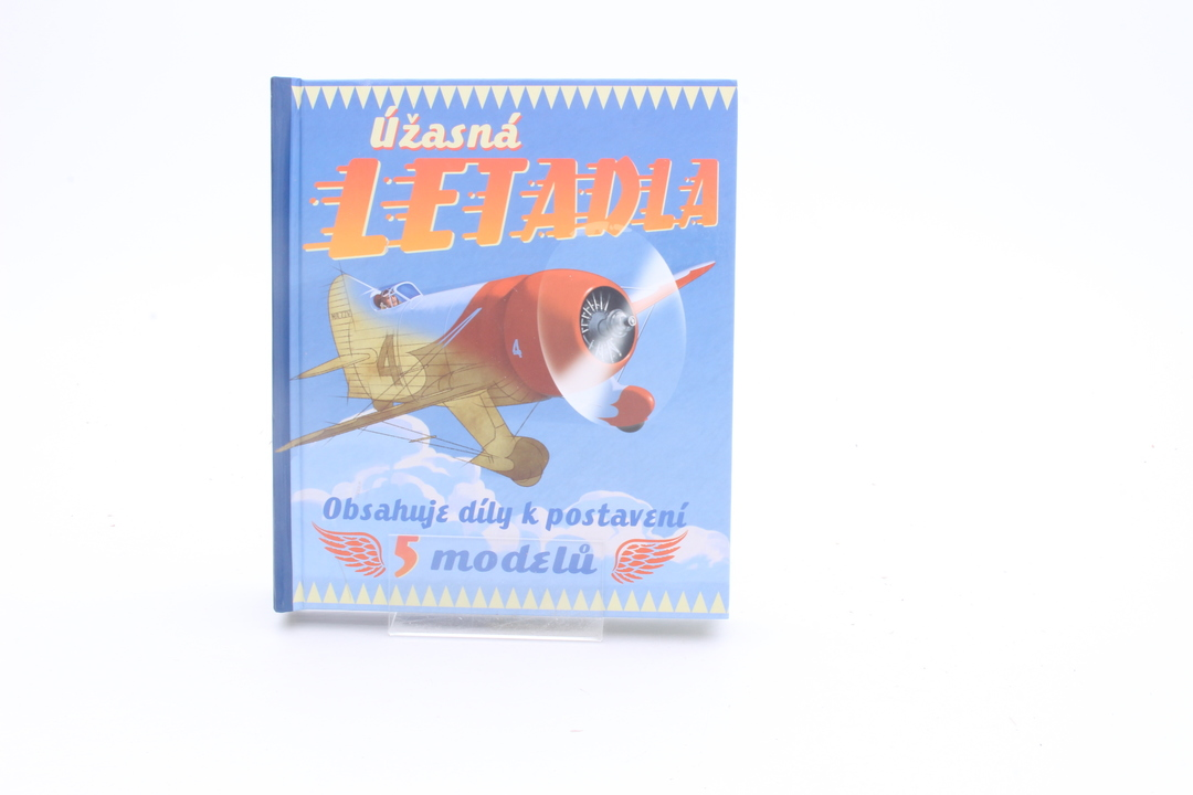 Kniha Úžasná letadla