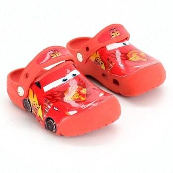 Chlapecké pantofle Crocs s autem