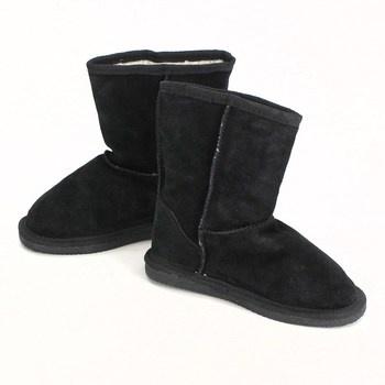 Dámské zimní boty černé - válenky