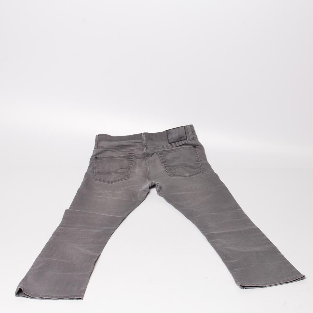 Pánské kalhoty Celio tmavě šedé