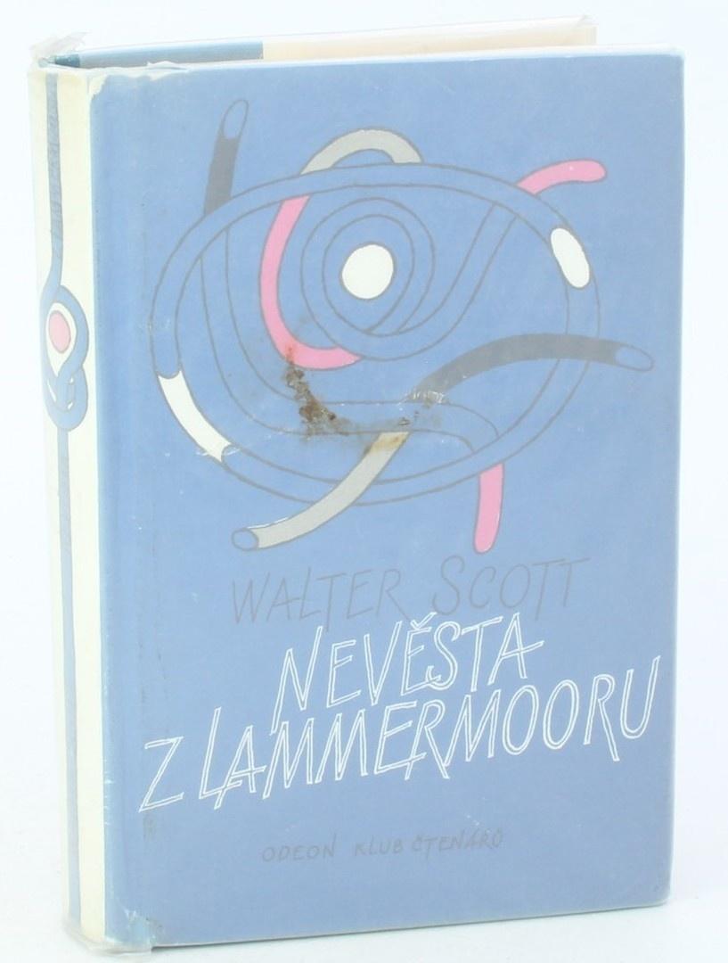 Kniha W. Scott: Nevěsta z Lammermooru