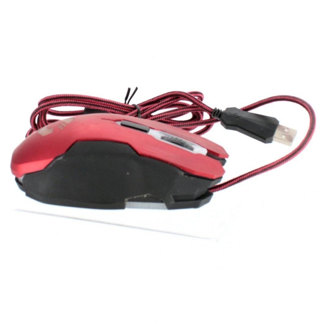 Kabelová myš SpeedLink SL-680002-BKRD
