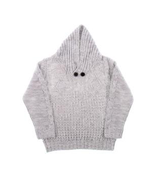 Dětský zimní svetr Pepco šedý