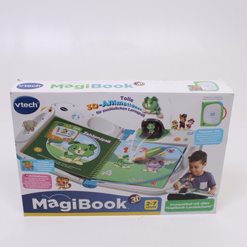 Interaktivní kniha Vtech 80-603904 MagiBook 3D