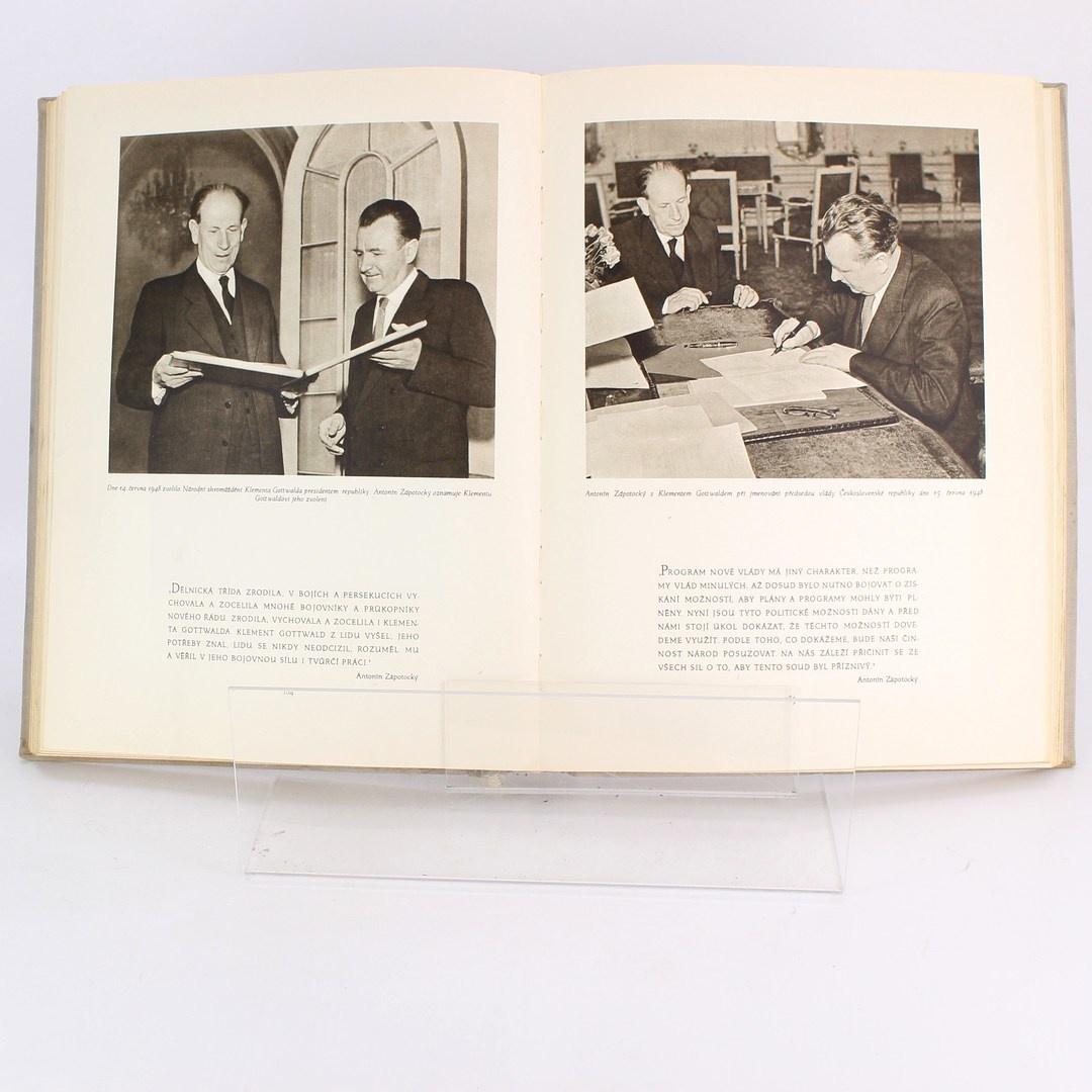 Kniha Antonín Zápotocký 1884 - 1954