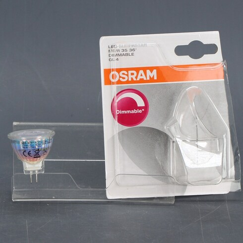 LED žárovka Osram GU4 Warm White 4,5 W