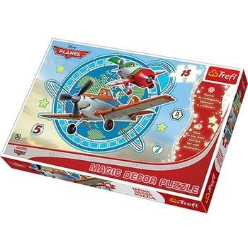Dětské puzzle Trefl letadla TRF14603