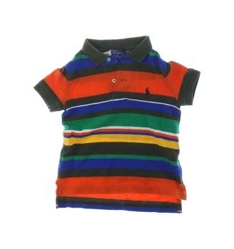 Dětské tričko s límečkem Ralph Lauren