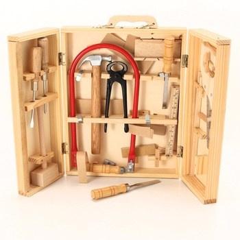 Sada dřevěného nářadí Speelgoed