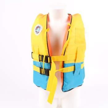 9aab0d275792 Dětská záchranná vesta Wave Relaxation žlutá