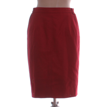 Společenská sukně Marz červená