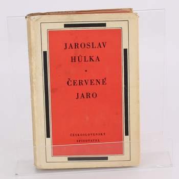 Kniha Červené jaro Jaroslav Hůlka