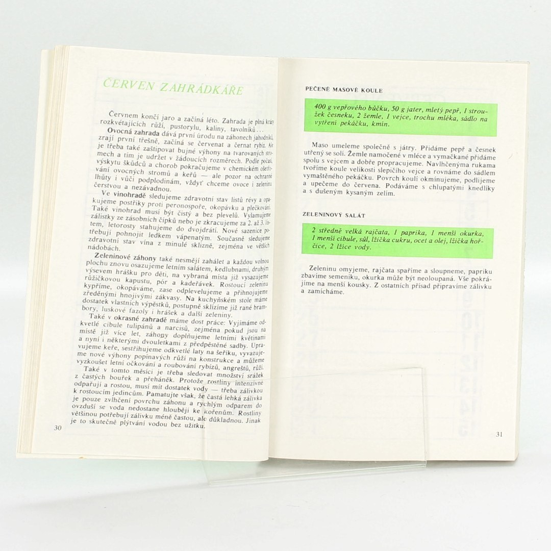 Kniha Josef Mára: Rukověť zahrádkáře 1989-1990