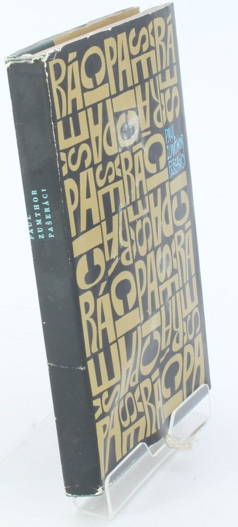 Kniha Paul Zumthor: Pašeráci