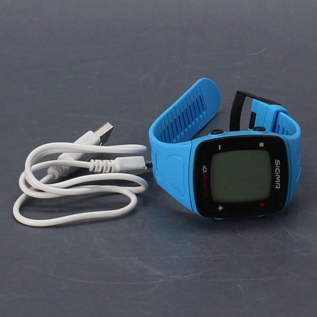 Sportovní hodinky Sigma Sport Id.Run HR blue