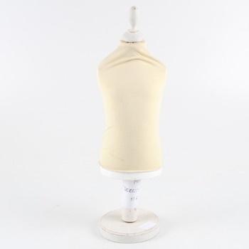 Krejčovská figurína světlé žlutá