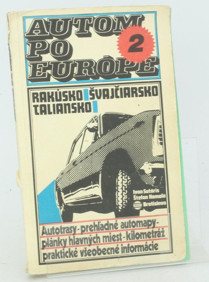Kniha Š. Homola: Autom po Európe