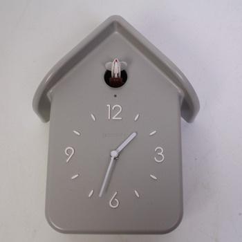 Kukačkové hodiny Guzzini šedé