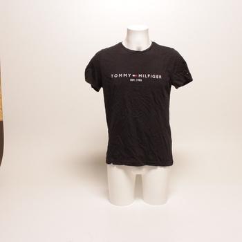 Pánské tričko Tommy Hilfiger černé M
