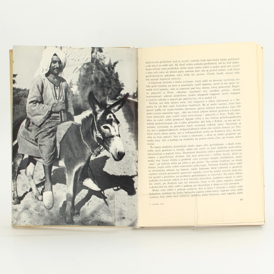 Kniha Arabská cesta maximilian