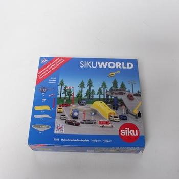 Stavebnice heliport Siku World 5506