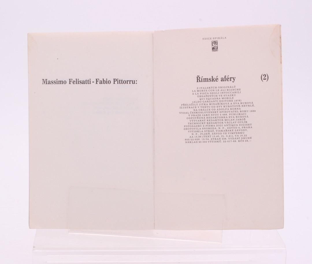Massimo Felisatti, Fabio Pittorru: Římské aféry II