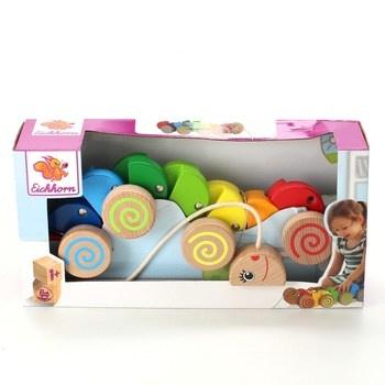 Tahací hračka Eichhorn Housenka