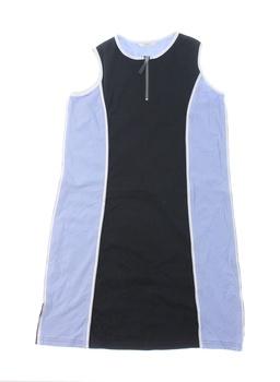 Dívčí šaty Marks & Spencer modro černé