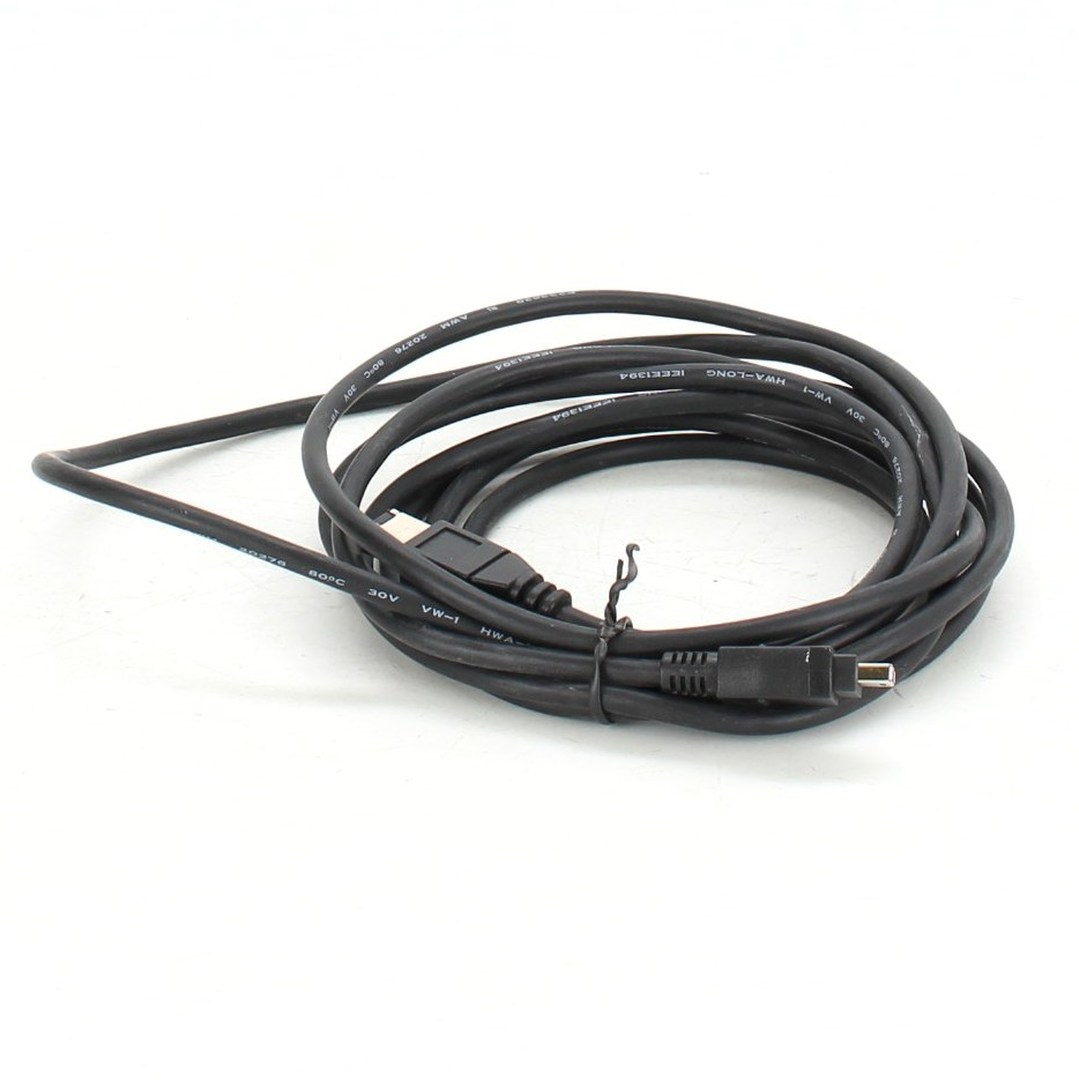 FireWire kabel Logo 30V VW-1 HWA-LONG