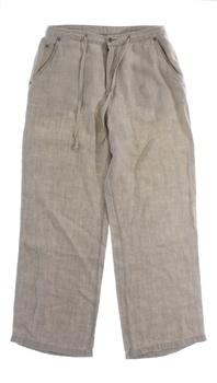 Dámské kalhoty Marks & Spencer lněné