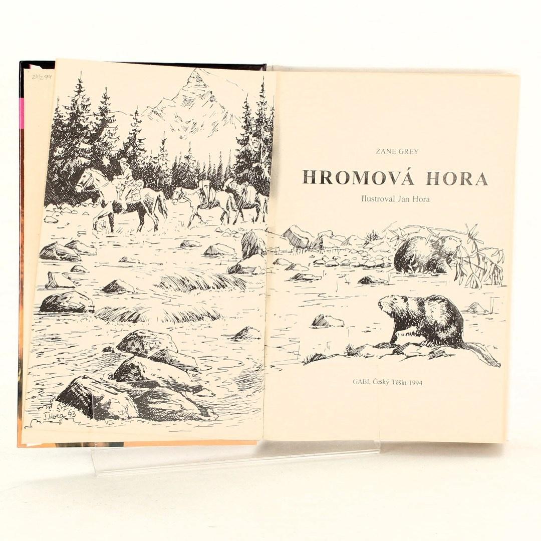 Kniha Zane Grey: Hromová hora