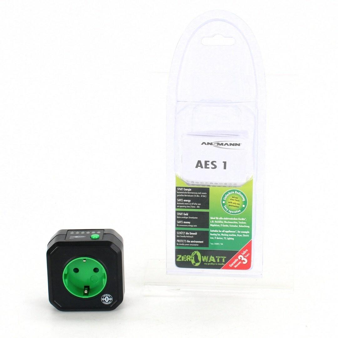 Spínací zásuvka Ansmann AES1 s časovačem