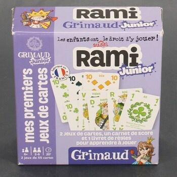 Karetní hra Grimaud Rummy Junior 410720