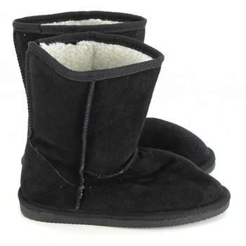 Dětské zimní boty válenky černé c1ec48fd13