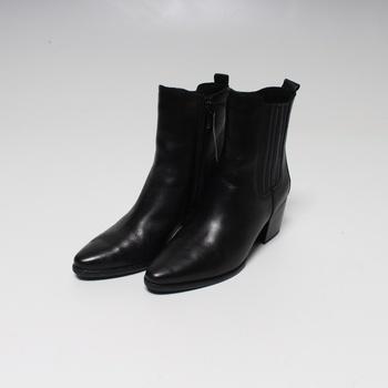 Dámské kotníčkové boty Marco Tozzi černé 37
