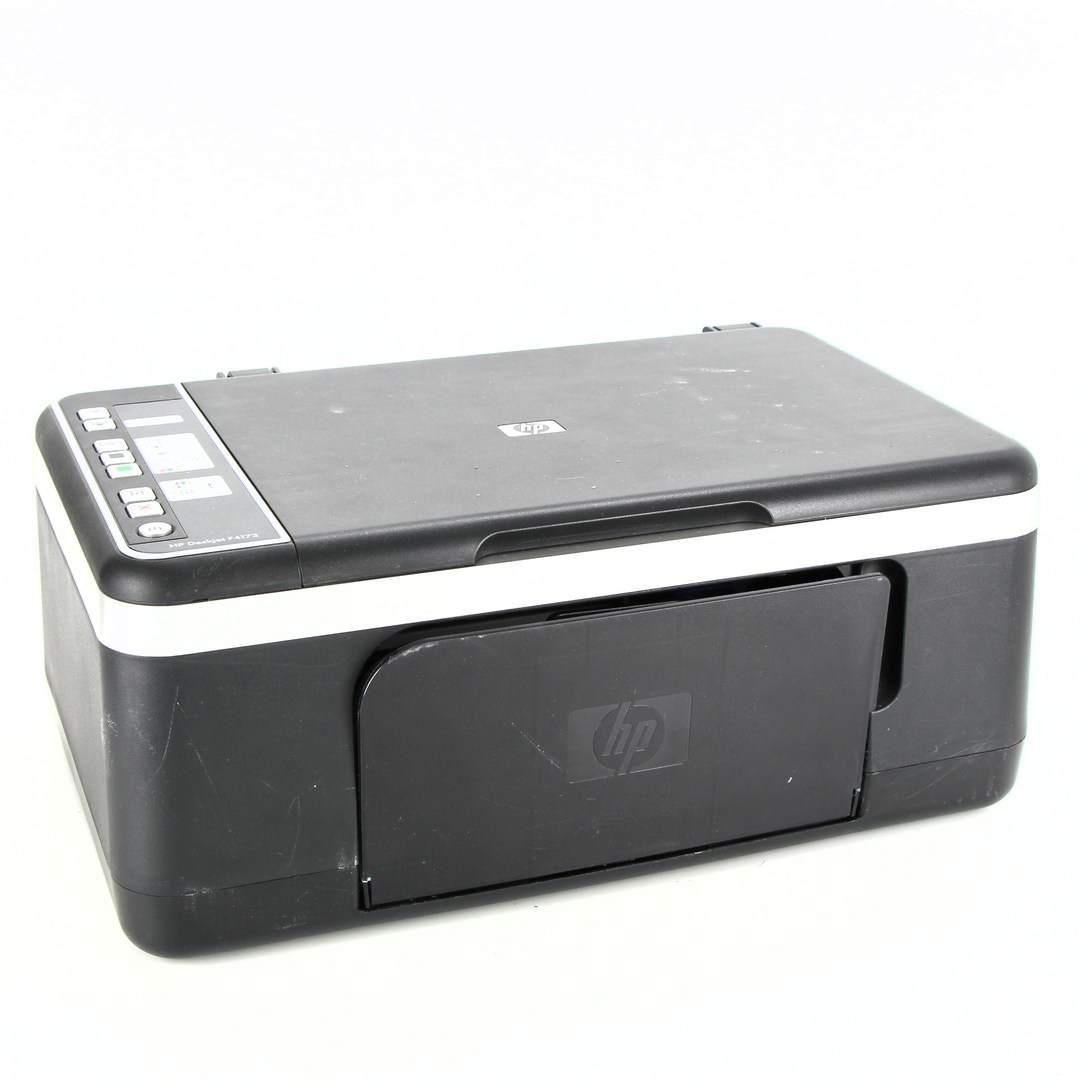 HP DeskJet F4172 černá