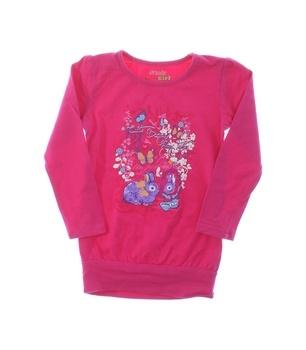 Dětské tričko Kugo s potiskem růžové