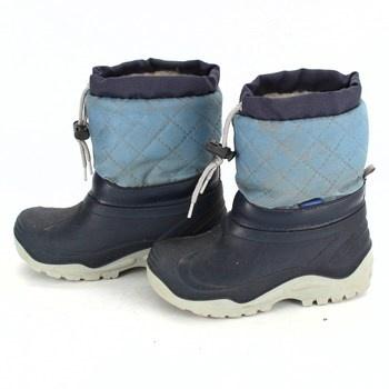 Dětské sněhule Muflon modré