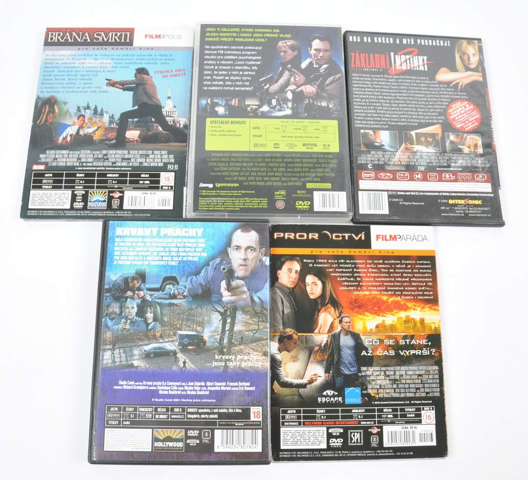 Sada 5 DVD Proroctví, Krvavý prachy