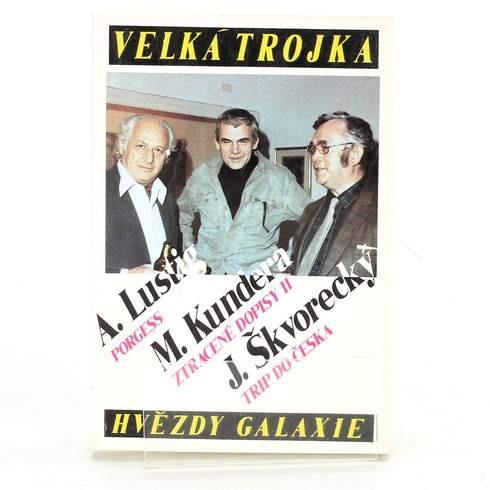 Kniha Velká trojka hvězdy galaxie