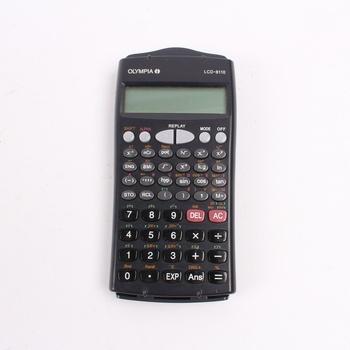 1595a2a877e Studentská kalkulačka Olympia LCD-8110