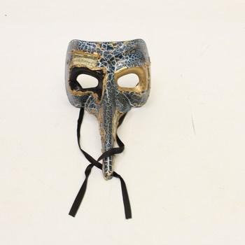 Obličejová maska Boland 00342 s nosem