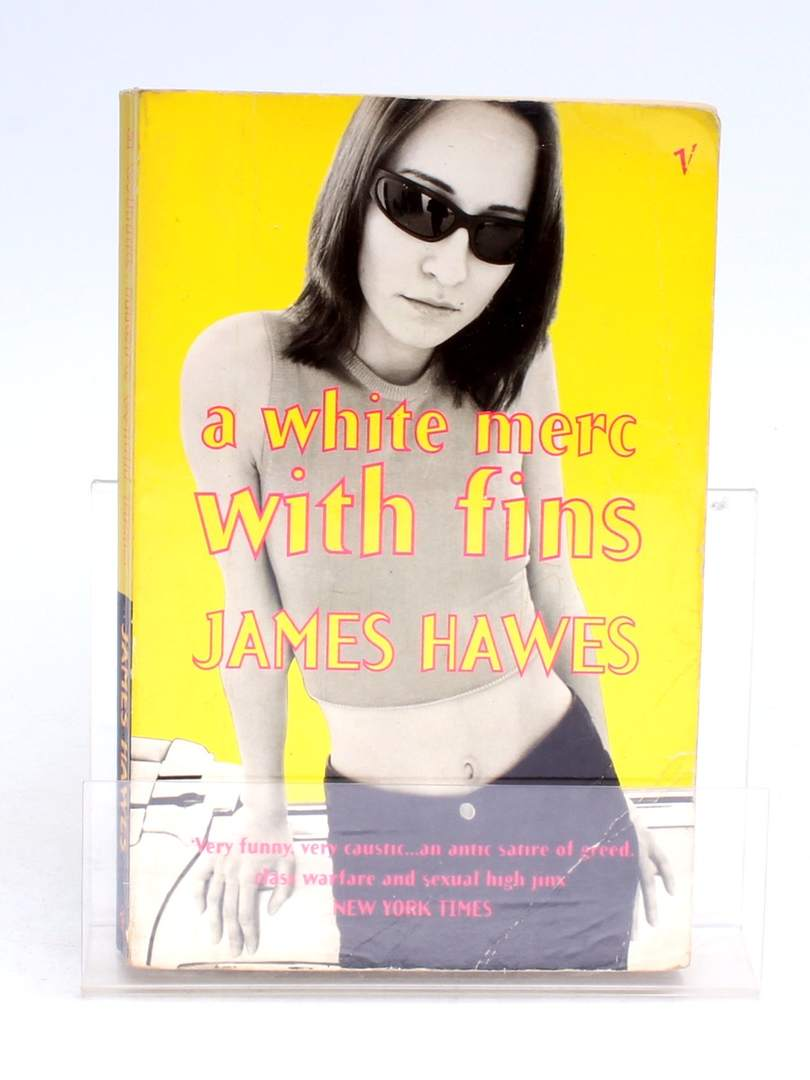 Kniha A white merc with fins James Hawes
