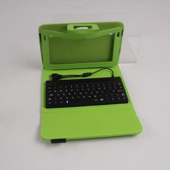 Pouzdro s klávesnicí pro Kurio 7 / 7S zelené