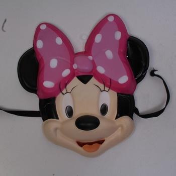 Dívčí karnevalový kostým Disney Minnie mouse