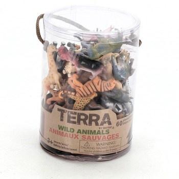 Divoká zvířata Terra 60 ks